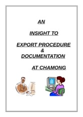 EXPORT-PROCEDURE-DOCUMENTATION-at-CHAMONG