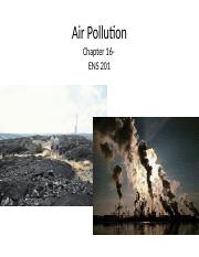 Topic 6- ENS201  Air pollution and ozone depletion.ppt