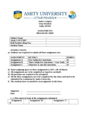 Amity university marketing strategy