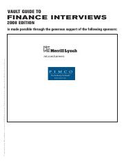 Vault Guide to Finance Interviews.pdf