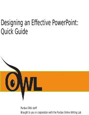 owl guide.ppt