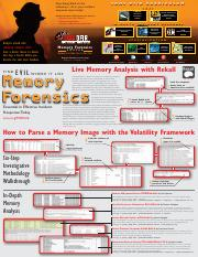 Memory-Forensics-Poster pdf - S A N S Stop being blind to