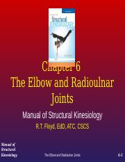 6 Elbow and Redioulnar Joint