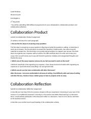 Collaberation product and reflection 2.docx