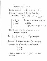 10 Sequences and series
