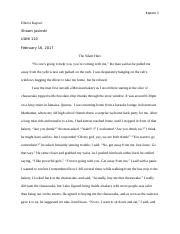 Personal Essay #3