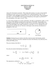 Exam 4 with Solutions