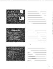 Physical Science notes worksheet