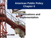 Notes 7 - Policy Implementation