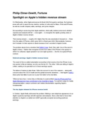 Press Article-Apples