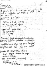 Data Structures and Algorithms - Directed, Undirected, Weighted, Unweighted Graphs Notes