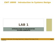 Lab 1 - Introduction to Information Systems Concepts.ppt