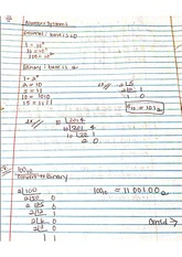 Notes: Number Systems