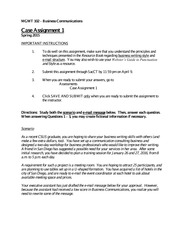 Case Assignment 1 - S15-2