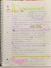 HON 1000 Project 2 Discussion Notes