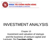 Chapter 10 Startup