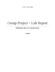 Group Lab Project