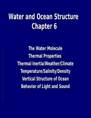 L6.Lecture.ch6.water