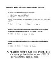 Application Word Problems Using Square Roots and Cube Roots .pdf