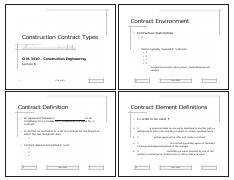 CIVL_3410_LEC_06_Construction_Contract_Types_NOTES-HANDOUTS [Compatibility Mode]