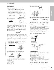 Geometry 3.2 Key.pdf - Answer Key Lesson 3.2 Practice ...