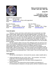 Env_ethics_Syllabus_SP2011