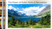 Day 20 ppt. Power of Public Parks