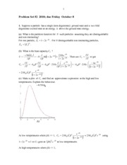 PHYS 403 Problem2 Solutions