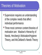2453  Herzberg's Motivation-Hygiene Theory 1111