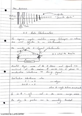 Observational Methods Radio Interferometers Lecture Notes