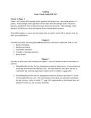 audit memo sample