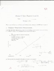 Chapters 15 & 16 exam; PV Diagrams, Buoyancy
