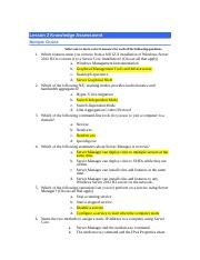 Lesson 02 Knowledge Assessment_Blank