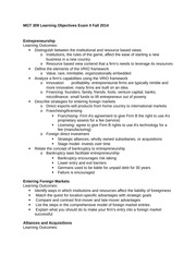 2014F Learning Objectives Exam II