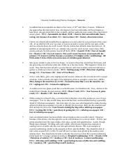 Operant Conditioning Worksheet -- OPERANT CONDITIONIN...