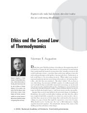 Ethics and the Second Law of Thermodynamics.pdf
