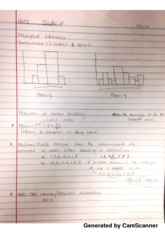 Statistic histogram notes