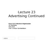 Lecture23_Advertising2_Econ121_Fall2010