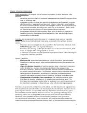 Chapter 10 Business Organization Notes.docx
