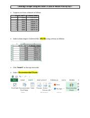 Creating a graph using MS-Excel, H-Pricy by SQFT