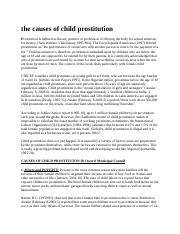 the causes of child prostitution.docx