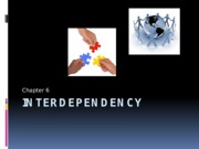 PSY BEH 173S: Interdependency Lecture (Zinger)