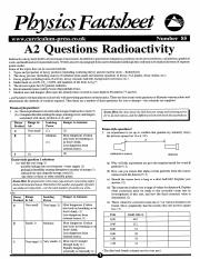 229512394-Nuclear-Decay-Physics-Factsheet