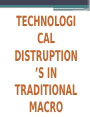 Topic 10 - Disruptive Technology Presentation
