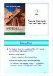ch 2 (Financial Statements)