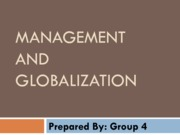 Management&Globalization(Assignment)