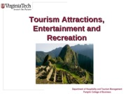 Chapter+8+Tourism+Attractions+Entertainment+and+Recreation