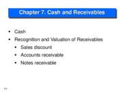 Chapter 7 Receivable(1)