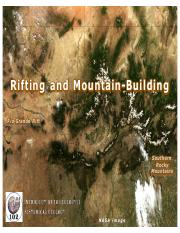 Rifting & Mountain Building