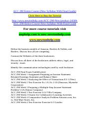 ACC 290 Entire Course (New Syllabus With Final Guide).doc